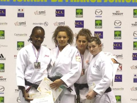 Pauline Dutertre - Championnat de France junior 2014